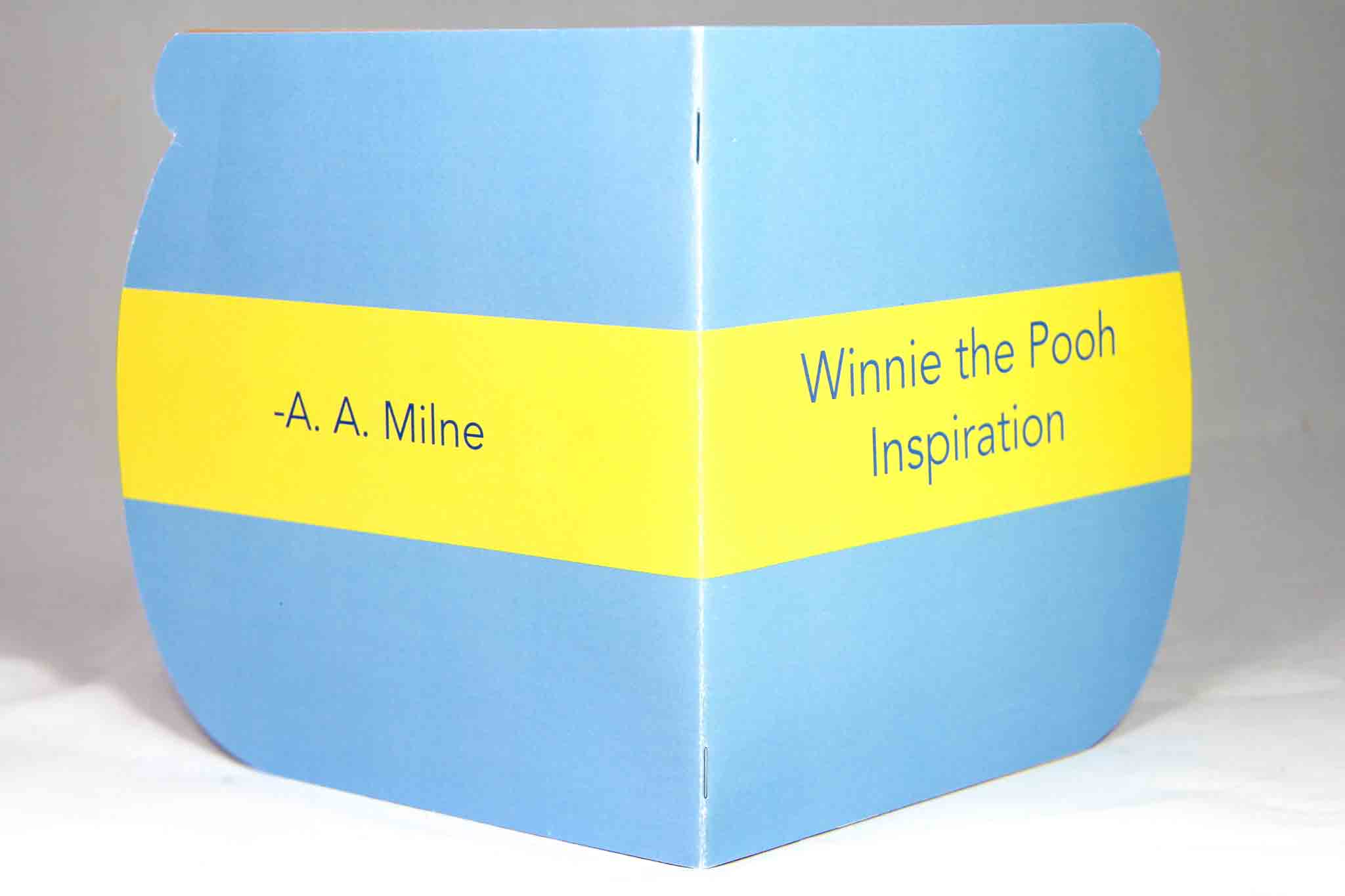 winnie the pooh illustrations for quote booklet